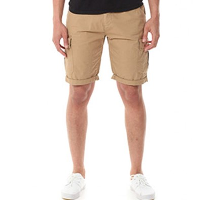 Twisted Soul Men's Stone Acacia Cargo Shorts, Blue Inc, £26.99
