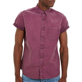 Purple Acid Wash Shirt, £25