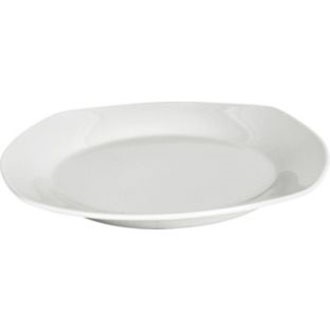 Square 12 Piece Porcelain Dinner Set - White. £15.99