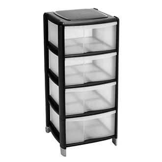 Wilko Storage Unit 4 Drawer Assorted. £10.00