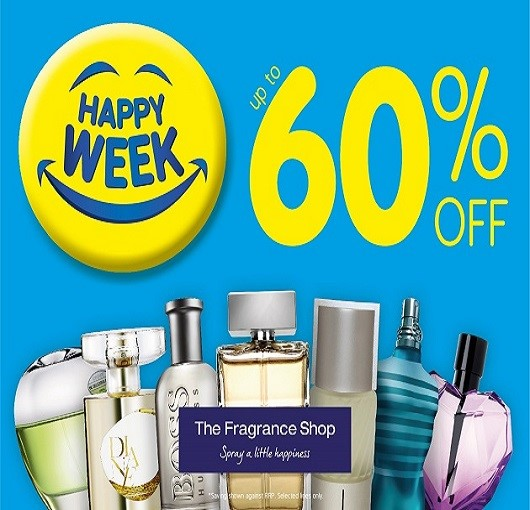 Happy Week at The Fragrance Shop!