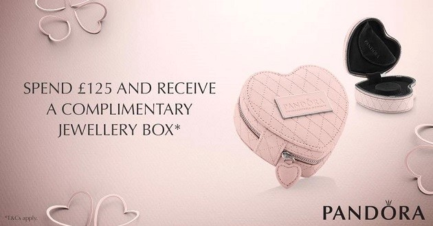Jewellery Box Offer