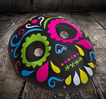 Halloween Day of the Dead Kids Mask