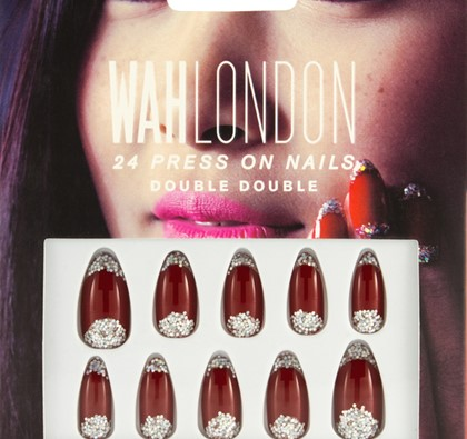 WAH London Double Double Press On Nails