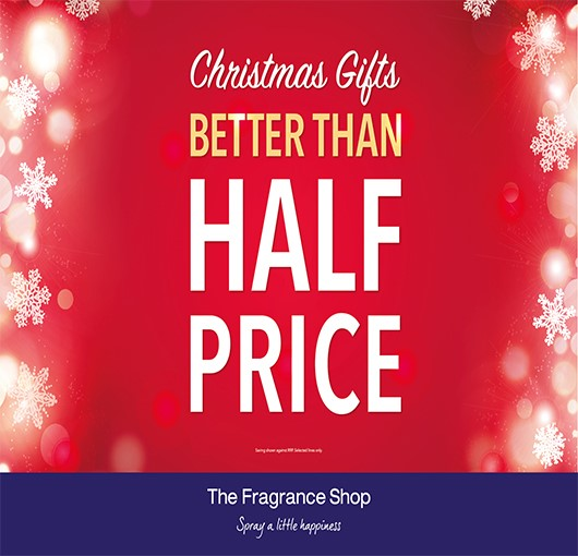 Christmas Gifts Better Than Half Price at The Fragrance Shop