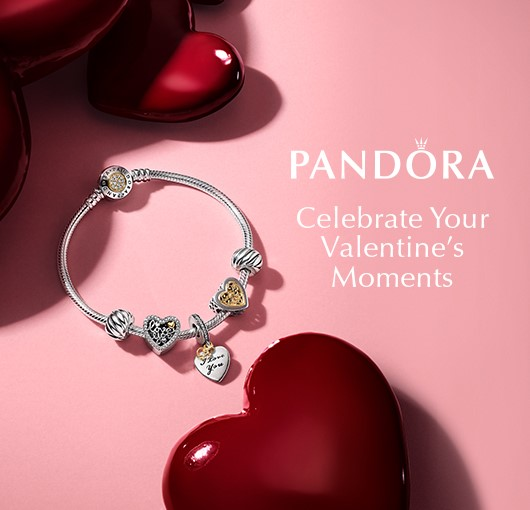 Valentines Collection at Pandora