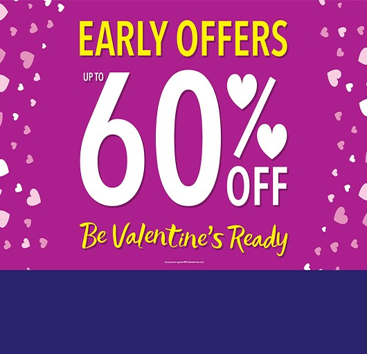 Early Valentine's offers at The Fragrance Shop