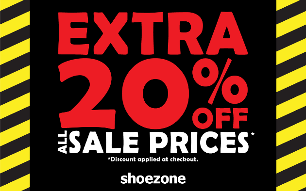 SHOE ZONE EXTRA 20 OFF Content image.png