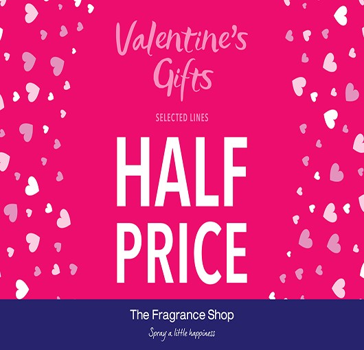 Valentine's Gifts from The Fragrance Shop