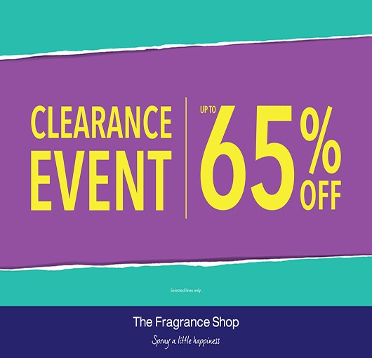 The Fragrance Shop Clearance Event