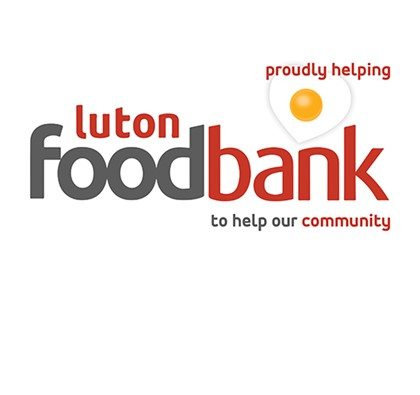 Luton Foodbank is our Charity of the Year