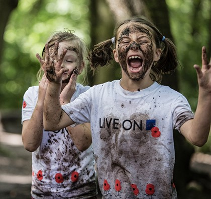 The Royal British Legion's Muddy Mayhem