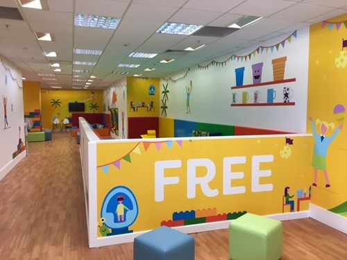 Have you seen our FREE soft play area? - The Mall Maidstone