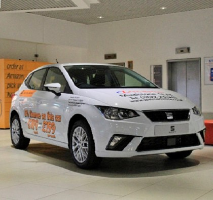 FG Barnes' SEAT Ibiza is here!