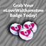 Grab your #LoveWalthamstow badge today!
