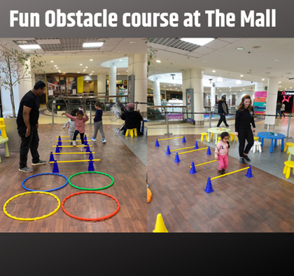 ON COURSE FOR FUN THIS HALF TERM AT THE MALL, WOOD GREEN