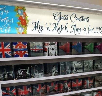Touch of Glass is now at The Mall Blackburn!