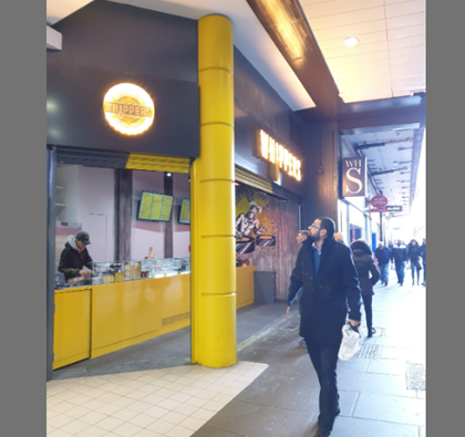 WHIPPERS BRING WAFFLES TO THE MALL, WOOD GREEN