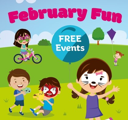 February half term fun for kids at The Mall!