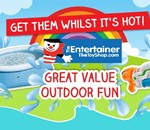 Outdoor fun at The Entertainer!