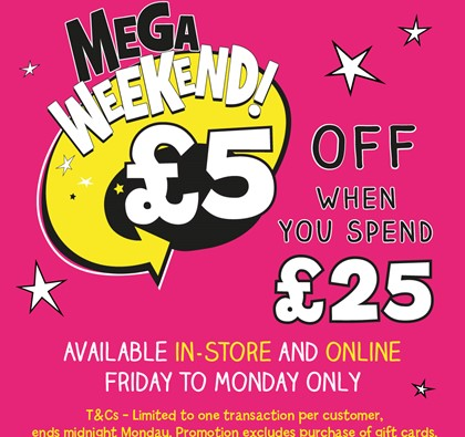 The Entertainer's Mega Weekend Deal!