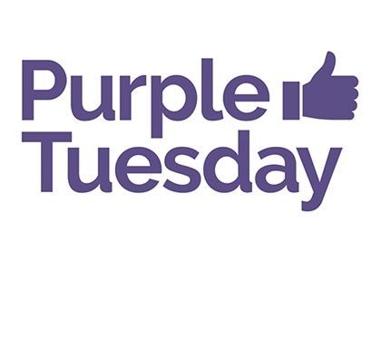 Join us for Purple Tuesday