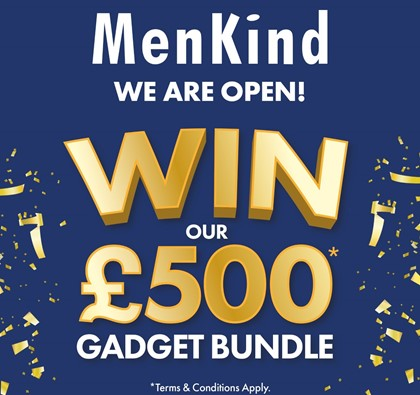 The £500 Gadget Giveaway at MenKind!