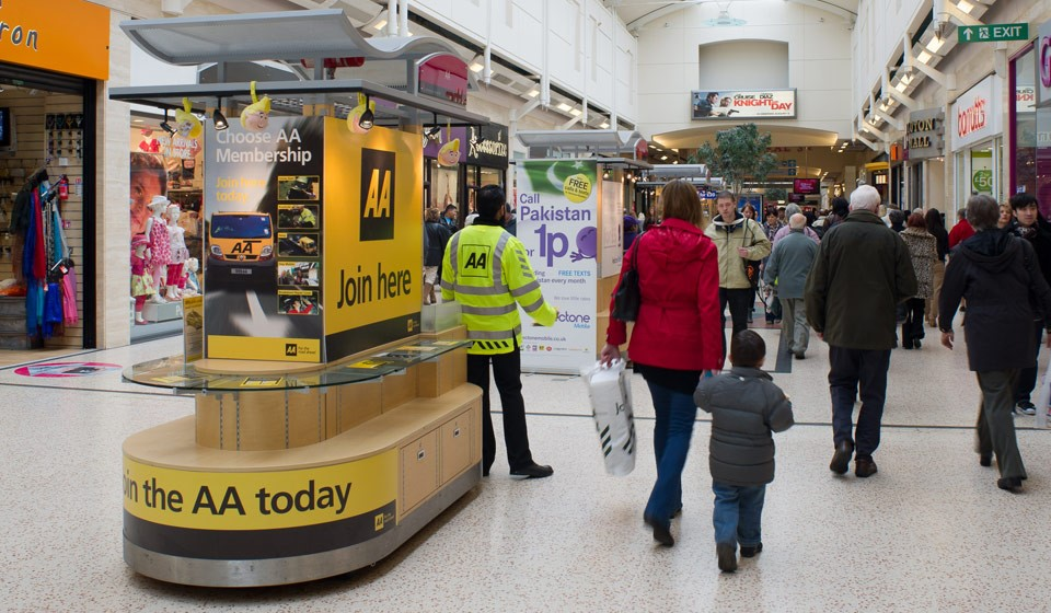 RMU in use by the AA at The Mall Luton