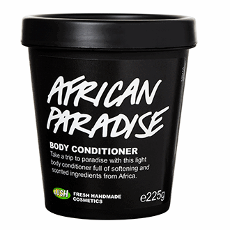African Paradise body conditioner £19.95 for 245g