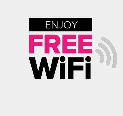 Enjoy Free WiFi